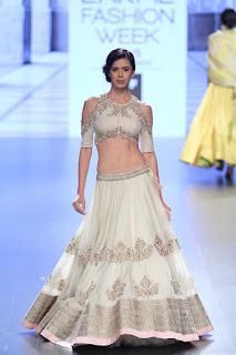 off shoulder Latest designer Lehnga