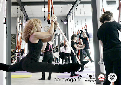 STAGE ENSEIGNANTS AERO YOGA INTERNATIONAL, YOGA AERIEN, AIR FLY FLYING
