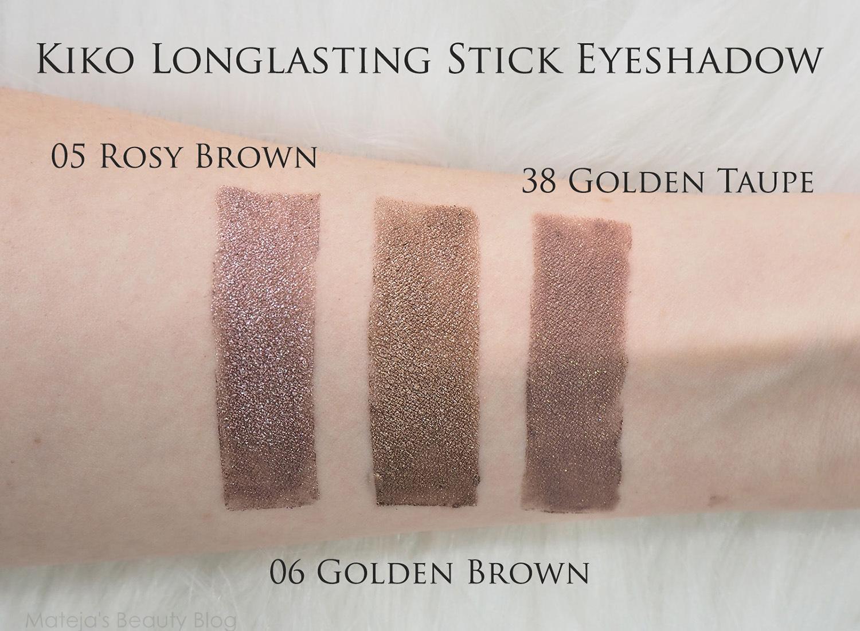 Kiko Long Lasting Stick Eyeshadow 05 Rosy Brown   Mateja's ...
