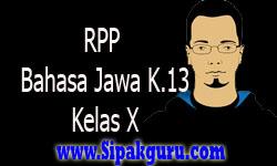 RPP Bahasa Jawa Kelas X Kurikulum 2013, Tembang Pangkur