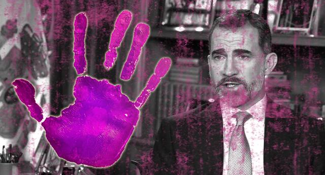 """Resultado de imagen de Dígalo, Borbón: """"Violencia machista"""""""