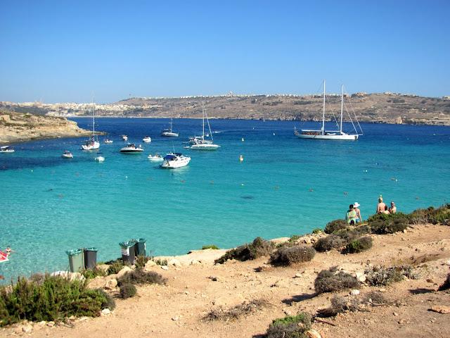 Malta's Blue Lagoon looks wonderful