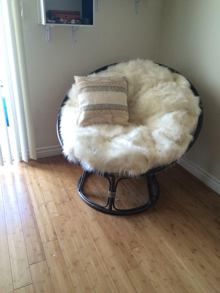 Thrifty Fox Papasan chair redo