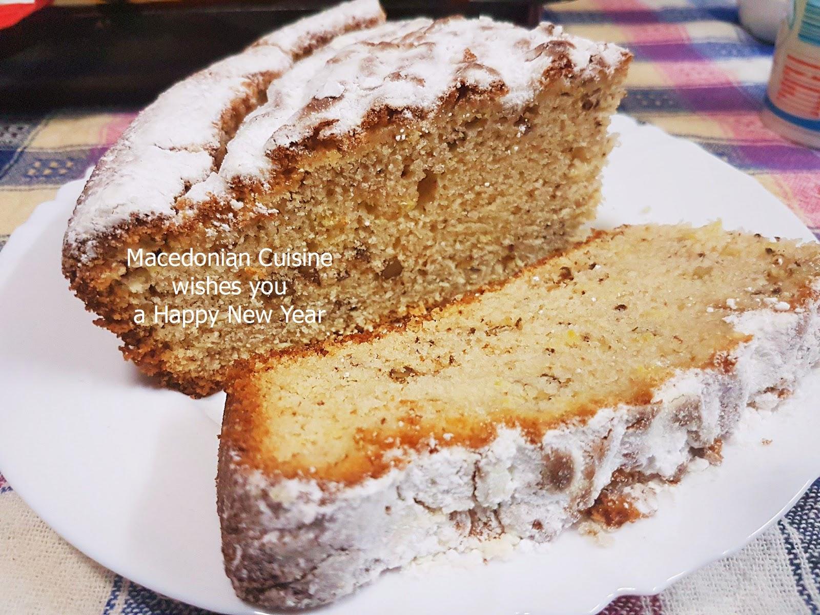 What Is Macedonia Cake