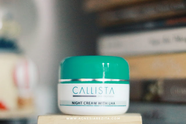 Callista Night Cream with LHA