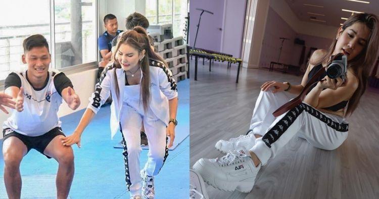 10 Gaya seksi instruktur kebugaran timnas Thailand, bikin gagal fokus
