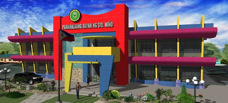 The proposed new Municipal Hall of Sto. Niño