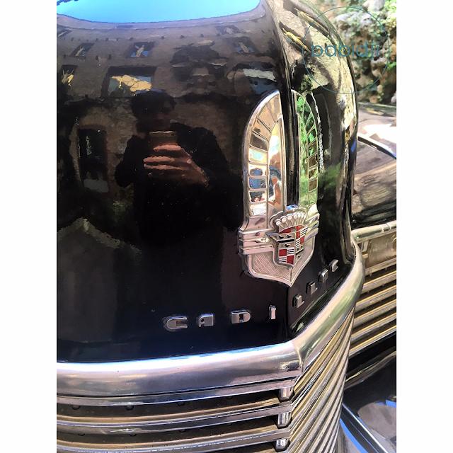 voiture cadillac de Dali au musée Figuères