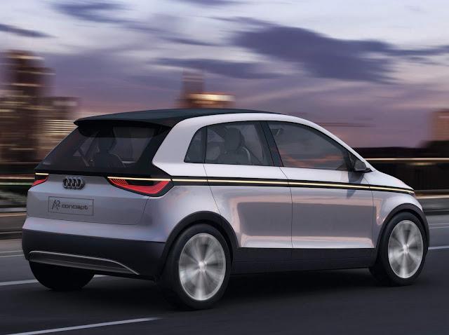 Audi sub-compacto elétrico e autônomo chega até 2021