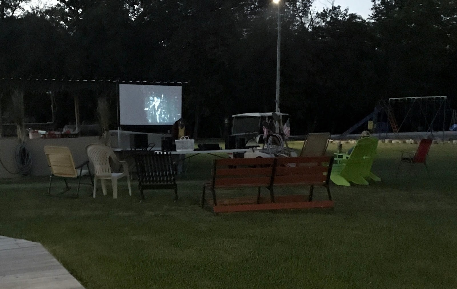 kathy u0027s kampground kapers dinner and a movie