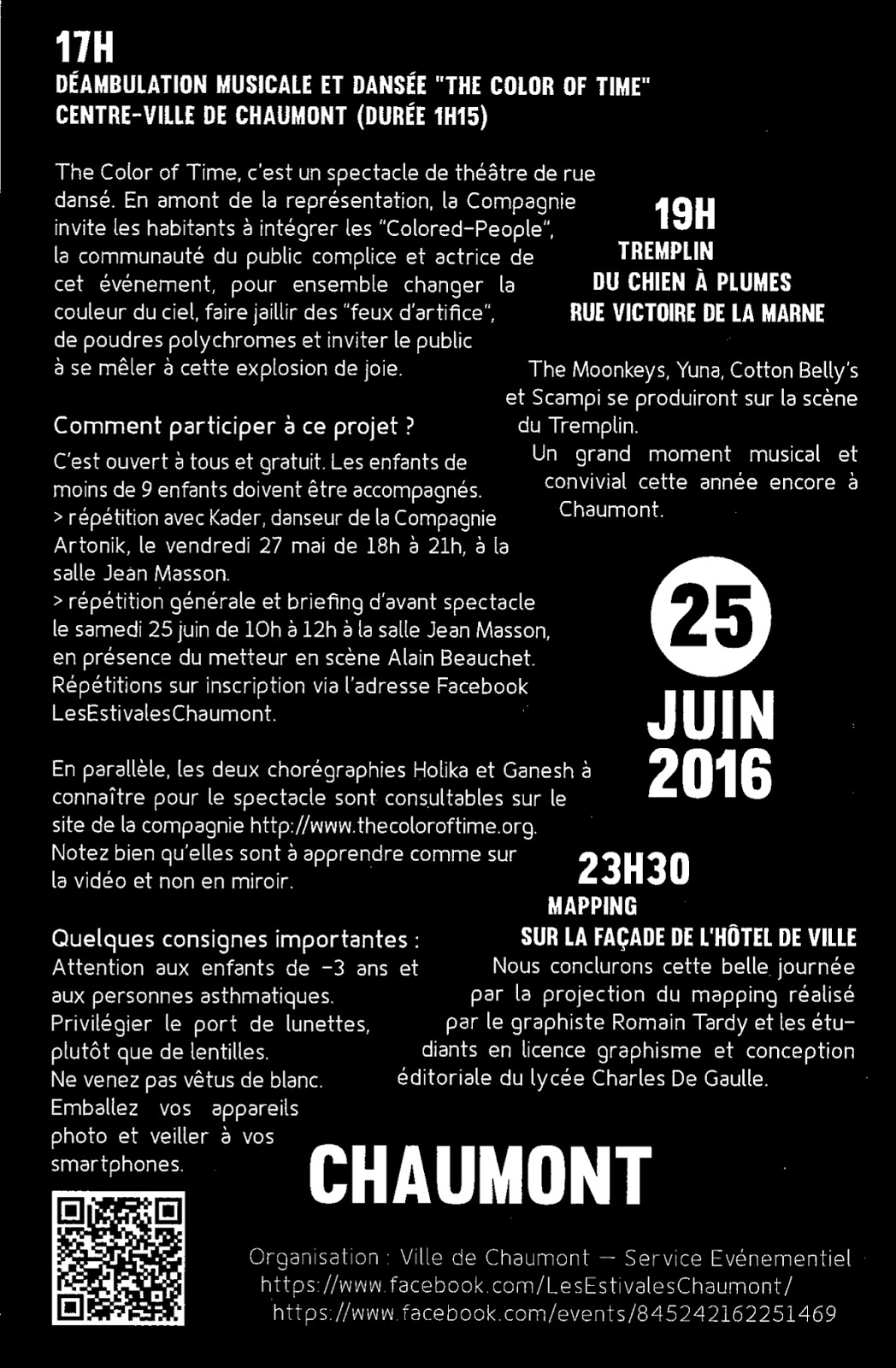 Bloggynews chc holidays 25 juin 2016 chaumont for 25 juin 2016