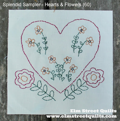 Splendid Sampler block 60