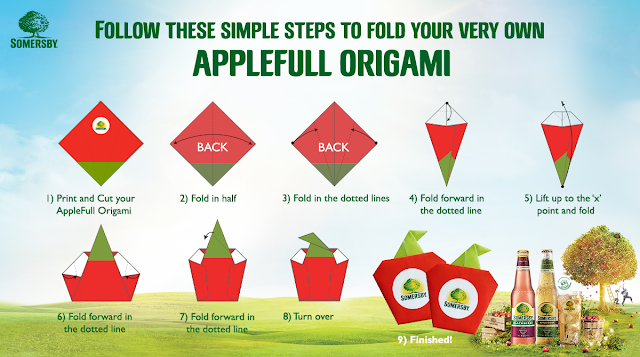 Somersby AppleFull Origami Instruction
