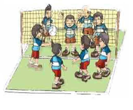 Olahraga Anak Permainan Bola Voli Mini Kelas 4 Sem 2