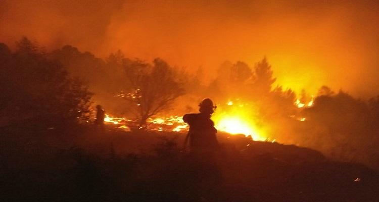 إسرائيل تحترق .. تل أبيب تطلب المساعدة من تركيا واليونان وإيطاليا وقبرص