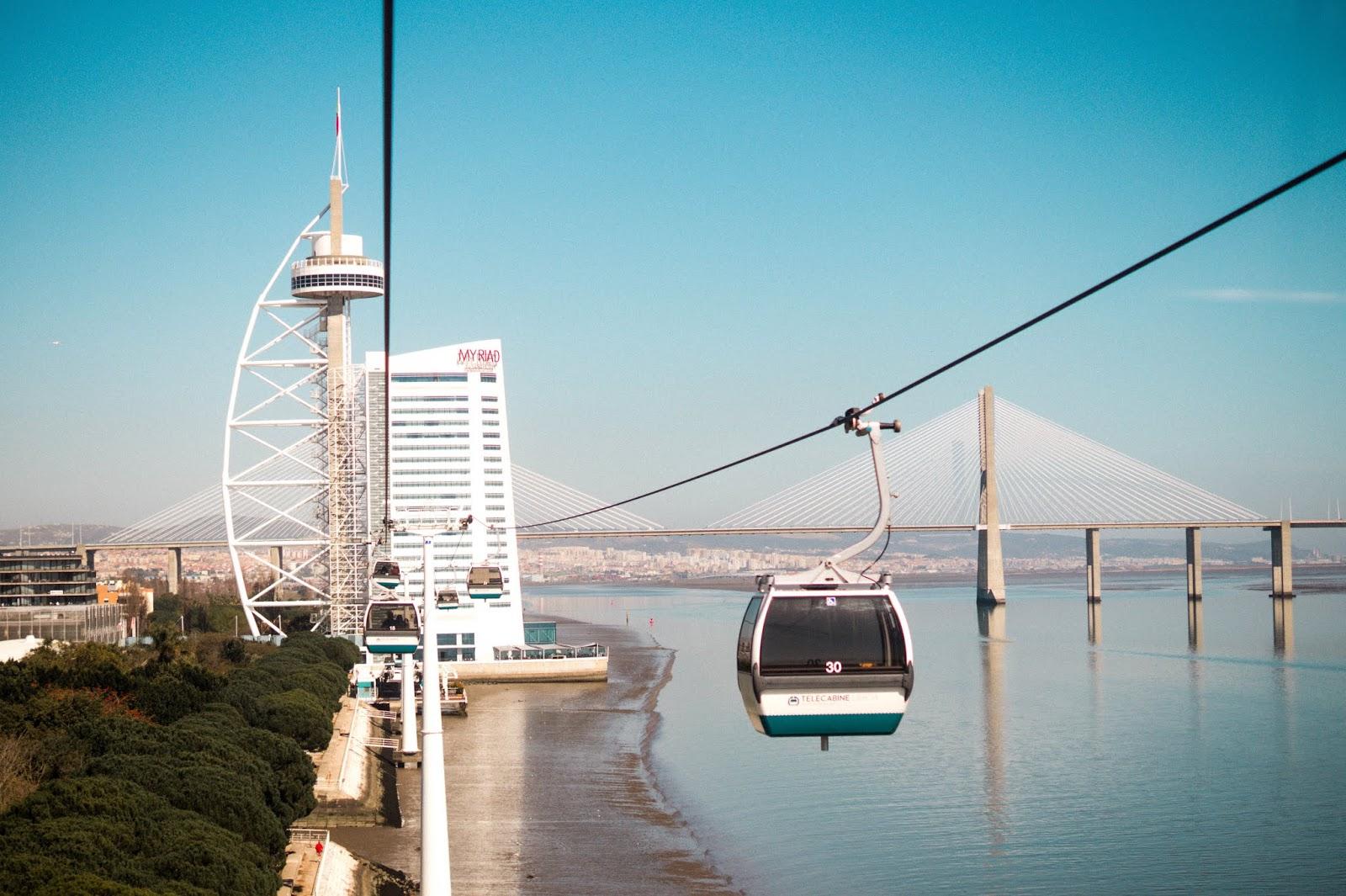 télécabine Lisbonne