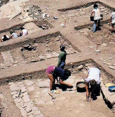 Ένα σπάνιο αρχαιολογικό παλίμψηστο στις Κουκουναριές της Πάρου