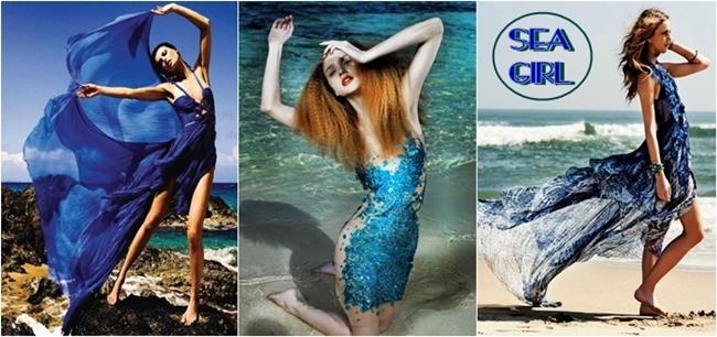 sea girl fashion ideas, mermaid dresses