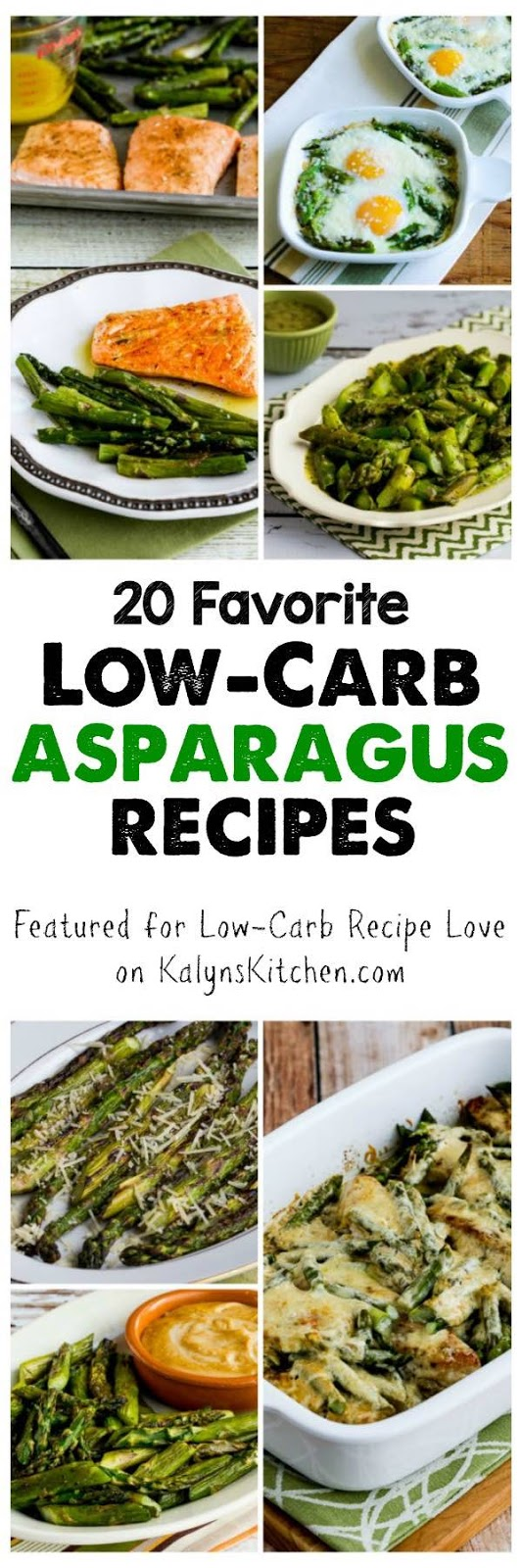 What's Your Favorite Way To Cook Asparagus? Tell Us About It In The Ments Please! Twenty Favorite Lowcarb