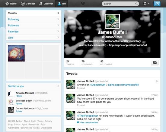 Twitter - Como faço login