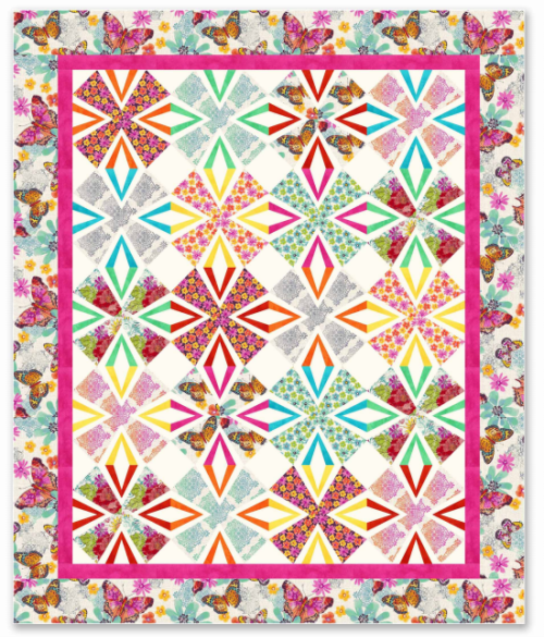 Mariposa Quilt - Free Pattern