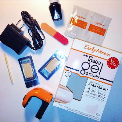 Sally Hansen Salon Insta Gel Strips Kit Shell We Dance