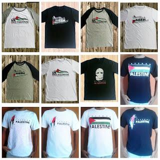 Distributor Kaos Palestina