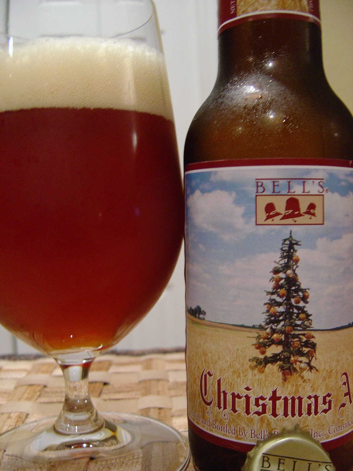 Bells Christmas Ale.Daily Beer Review Bell S Christmas Ale