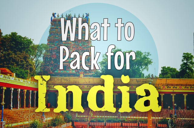 What to pack to practice yoga in India