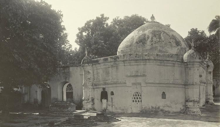 The Tomb of Shah Bahram - Burdwan (Bardhaman), Bengal, 1904