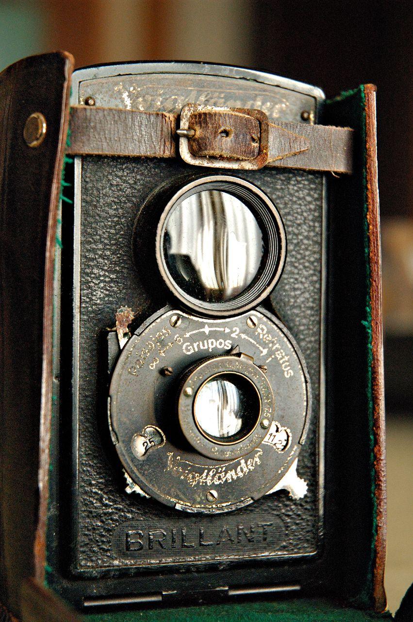 Vintage Camera Voigtländer Brillant