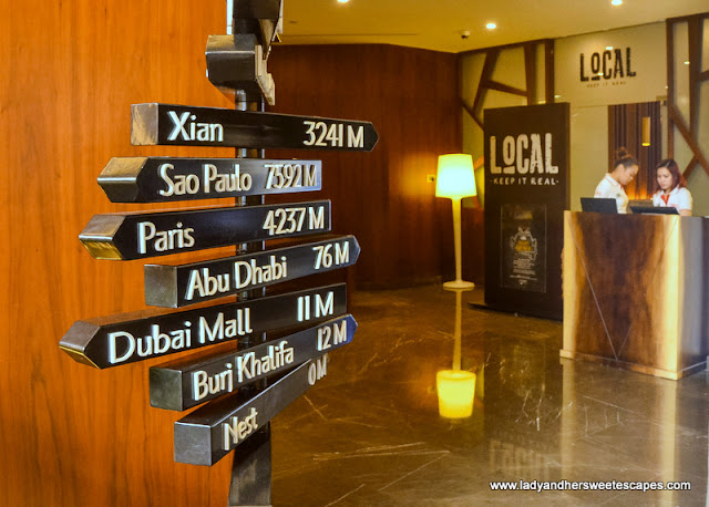 Local restaurant in TRYP by Wyndham Dubai