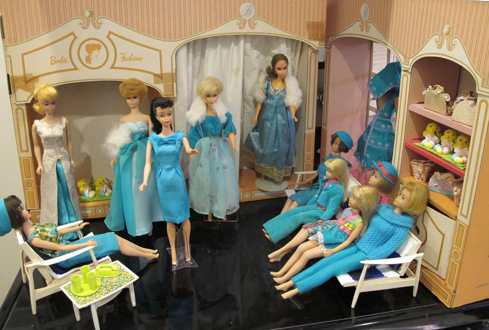 Susan 39 S Mini Homes Happy Easter Fashion Show At The Vintage Barbie Fashion Shop