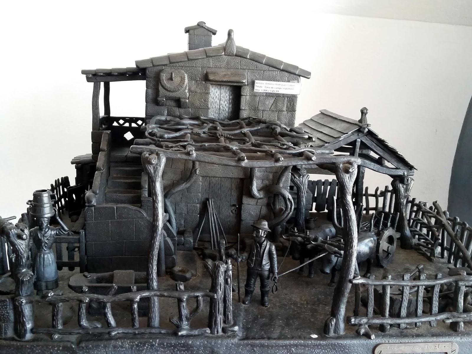 escultura casa