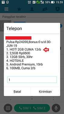 lagi menawarkan promo paket internet murah kepada penggunanya Promo Paket Internet Tri (3) 2GB Rp12+.000