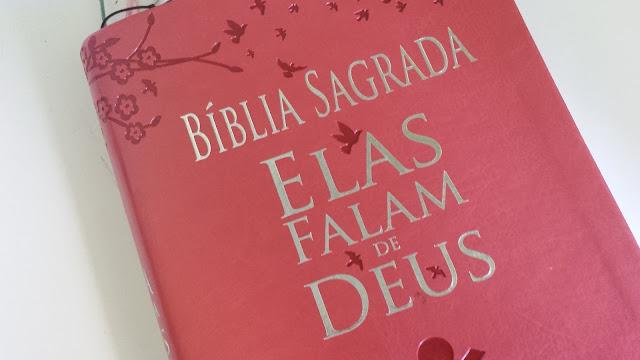 Bíblia Sagrada com devocionário Elas falam de Deus