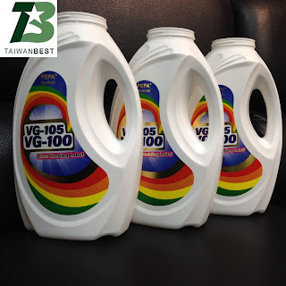 synthetic pp paper blowing bottle 2