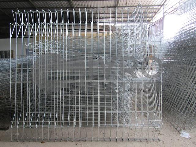 Jual, Produksi, Pabrik Pagar BRC Elctro Pleating Jakarta Dengan Berbagai Spesifikasi