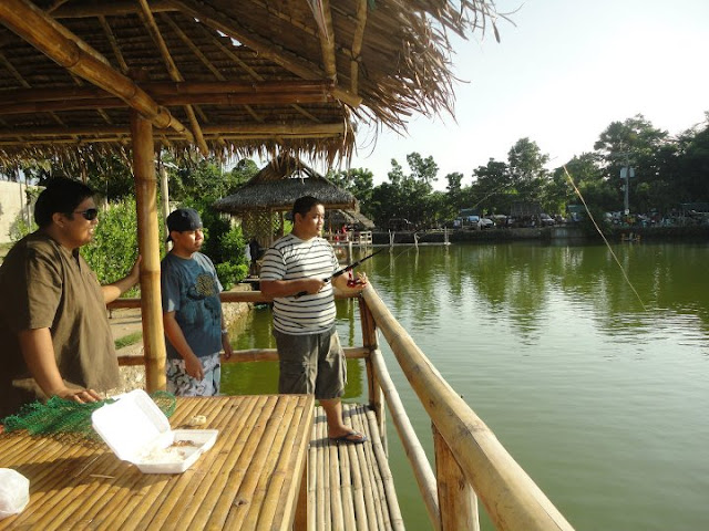 Fishing in Liloan  Cebu Tourist Spot