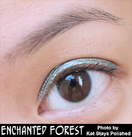 Jesse's Girl Cosmetics - Fluid Shadows - Enchanted Forest | Kat Stays Polished