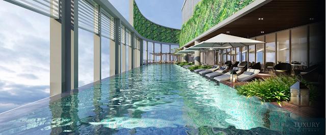 Tiện ích hoàn hảo tại dự án Alphanam Luxury Apartment