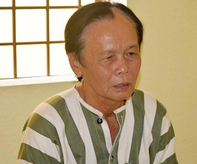 Ông Lâm Văn Mới tại cơ quan điều tra