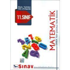 Sınav 11.Sınıf Matematik Örnek Test Çözümlü Soru Bankası