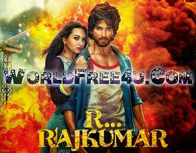 Poster Of Hindi Movie Rambo Rajkumar (2013) Free Download Full New Hindi Movie Watch Online At worldfree4u.com