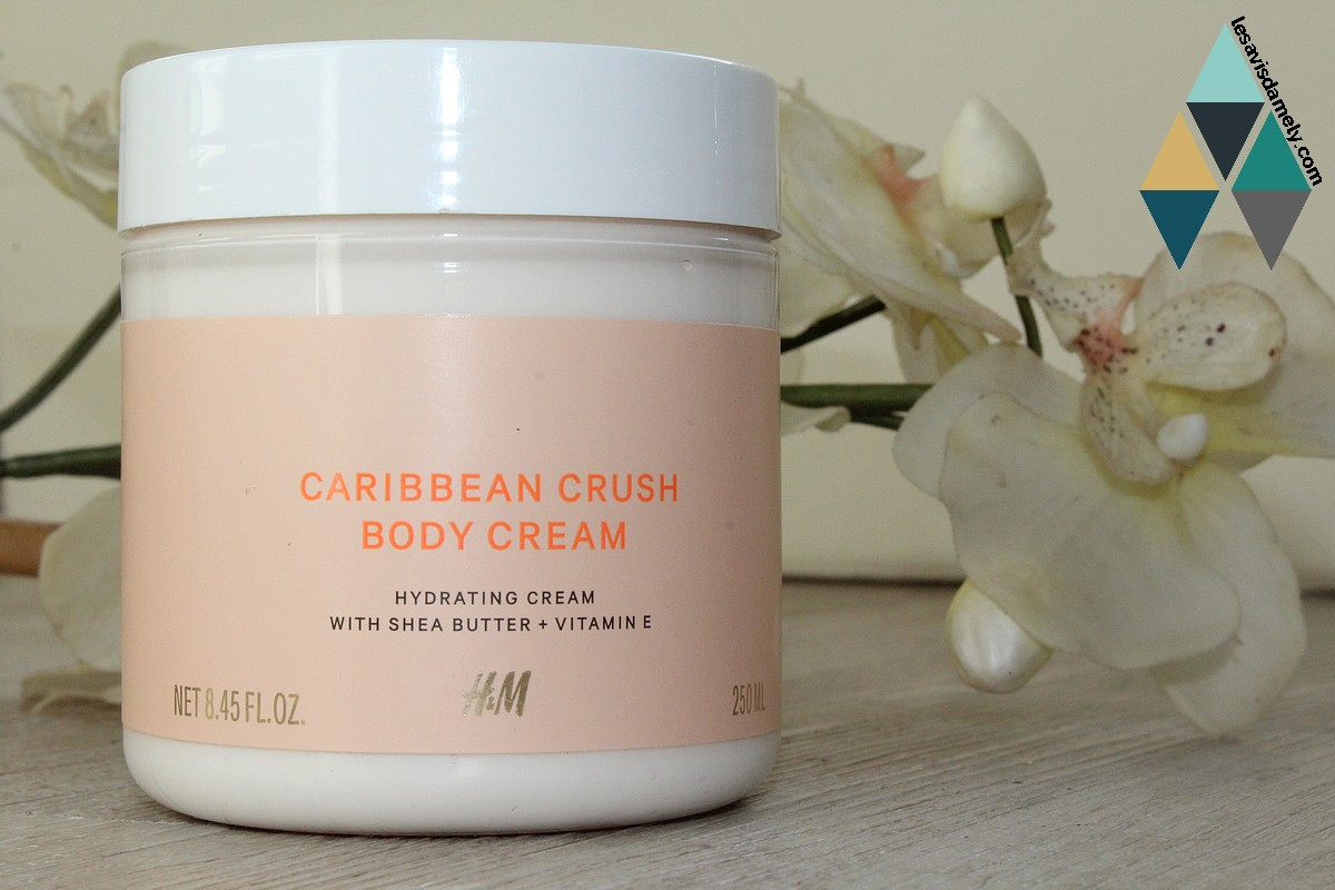 Caribbean crush body cream