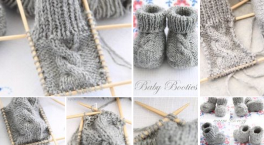Knitting Yarn Patterns: Today I bring to you the step by step this beautiful shoe for baby