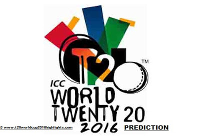 ICC T20 World Cup 2016 All Match Prediction
