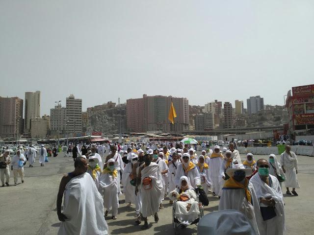 Laporan Haji: JCH Padangpariaman Laksanakan Umrah Sunnah