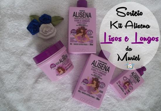 Sorteio Kit Alisena Muriel Lisos e Longos - No Instagram