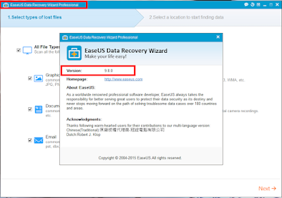 easeus data recovery serial key free download